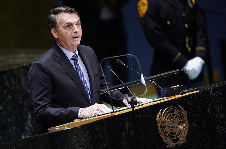 Folha (Бразилия): предлагаем вашему вниманию полный текст выступления Болсонару в ООН